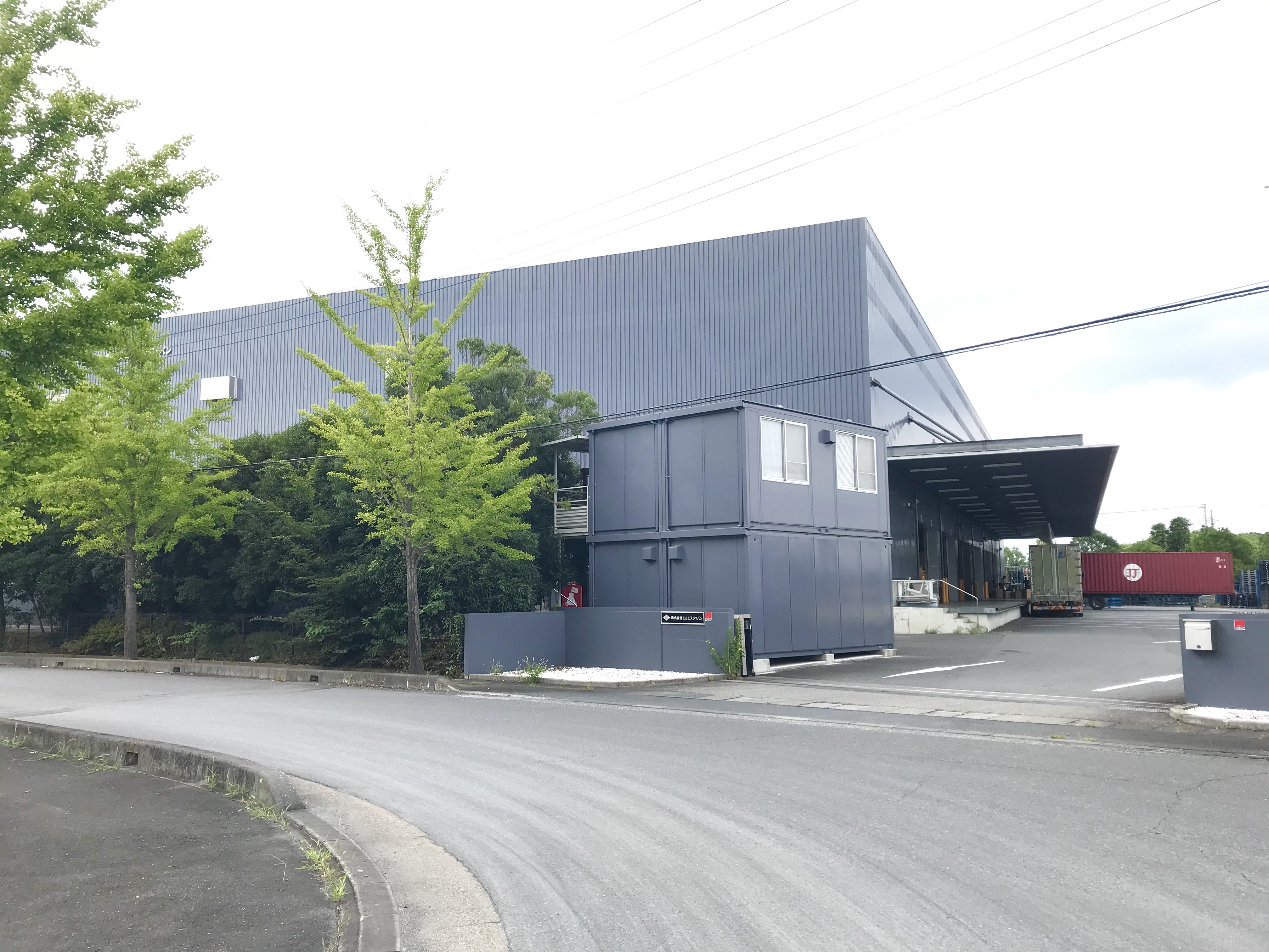 東京西部物流倉庫